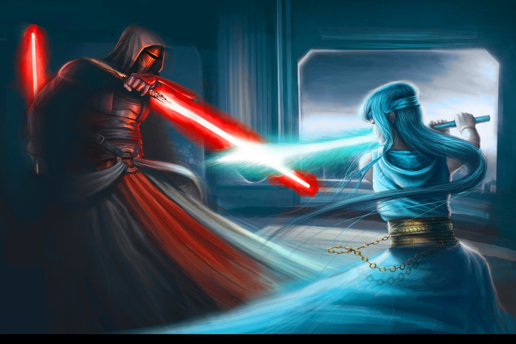 star wars: knights of the old republic ii fond d'écran and arrière