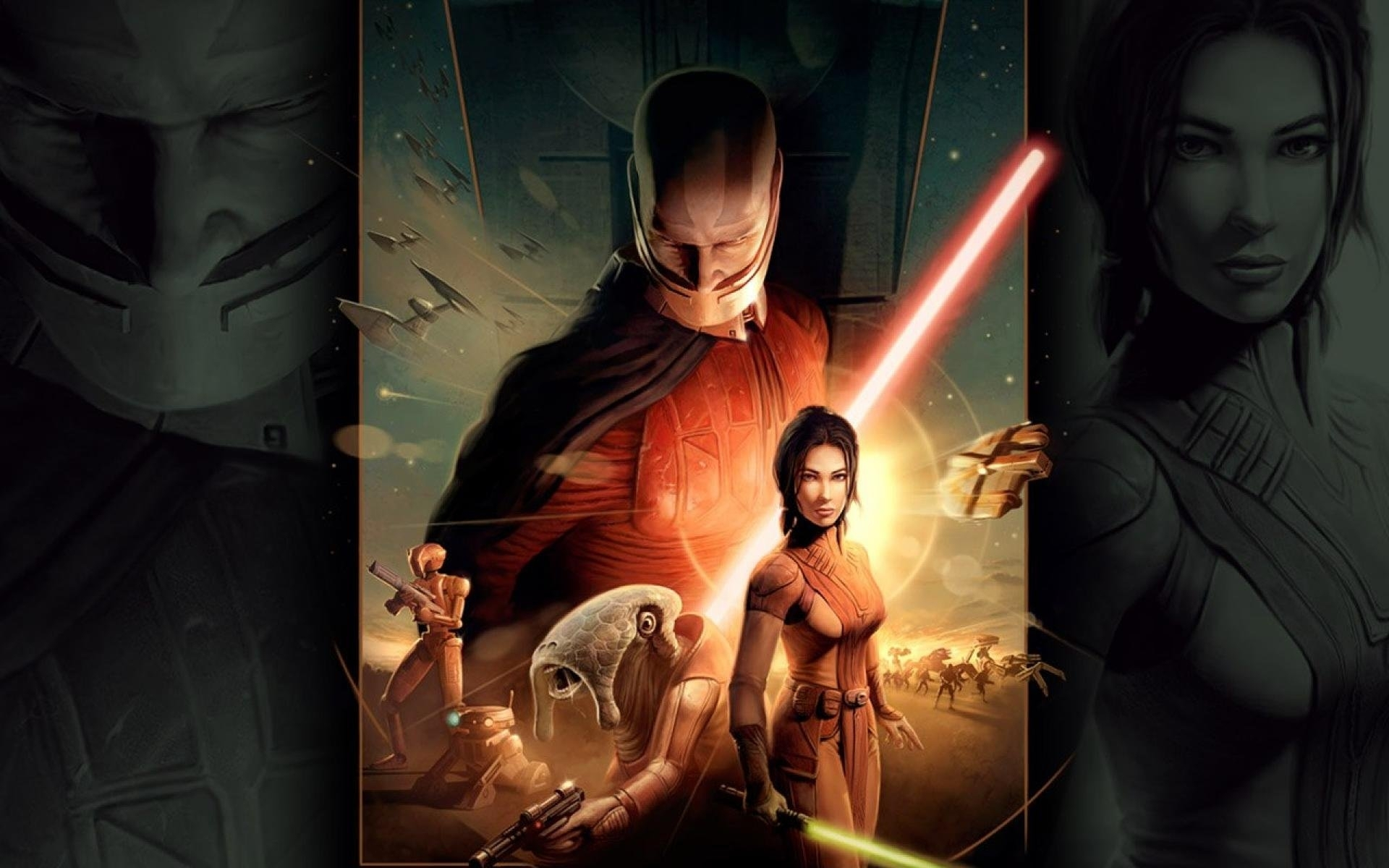 star wars knights of the old republic wallpaper » walldevil - best