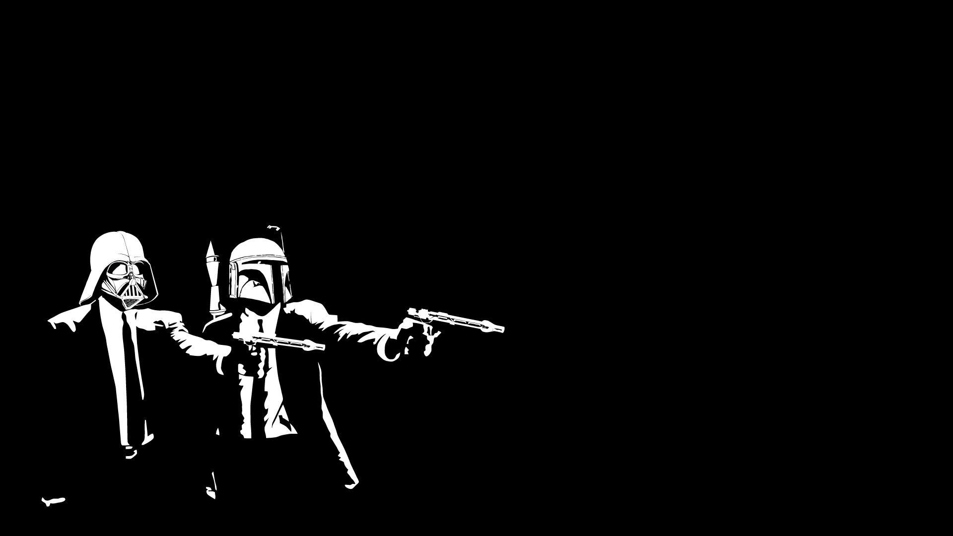 star wars pulp fiction wallpaper (57+ images)