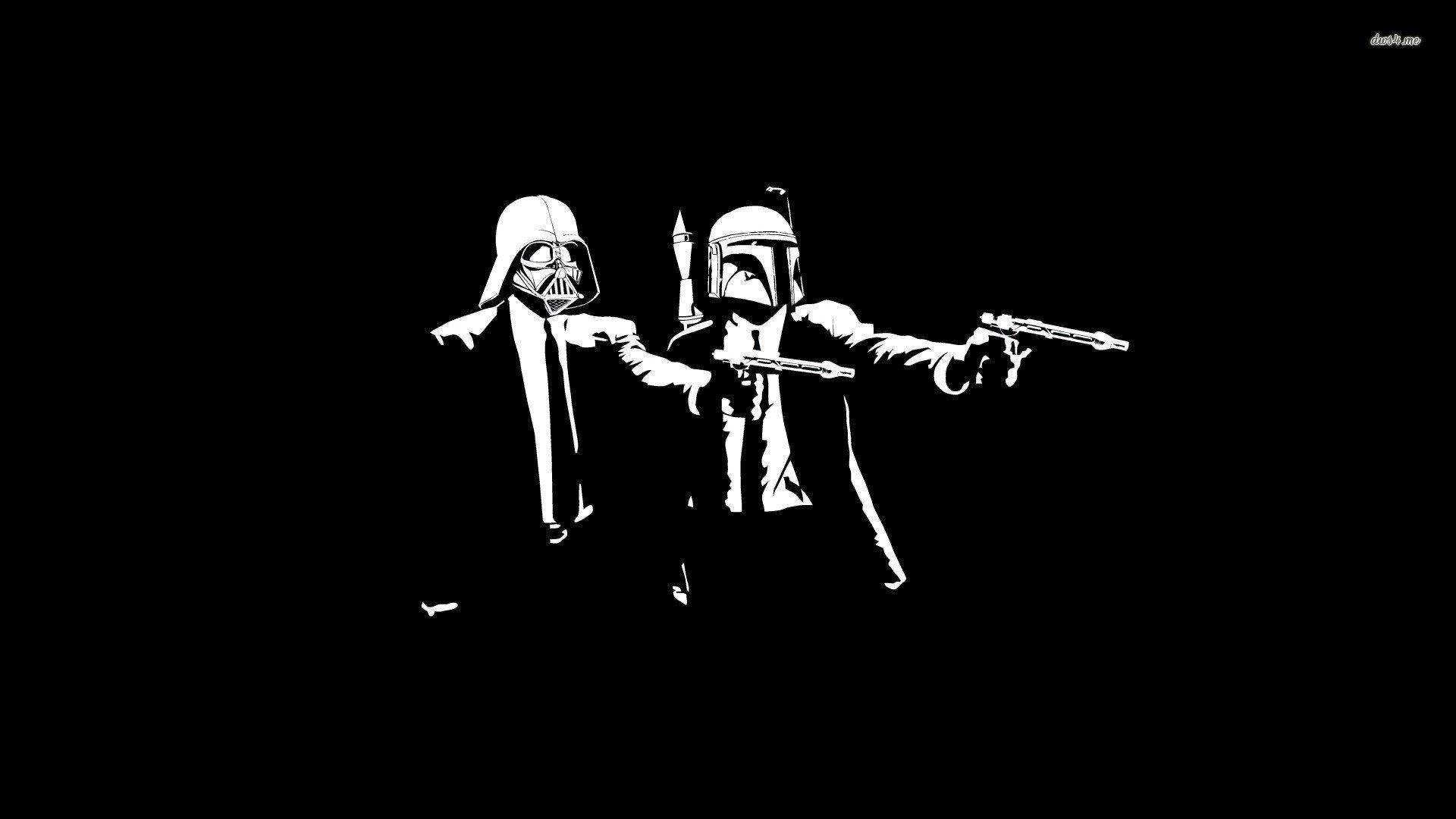 star wars vs pulp fiction - walldevil