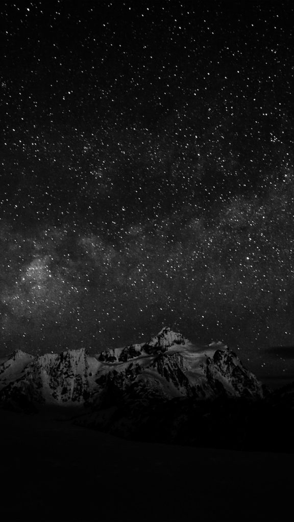 10 Most Popular Dark Wallpapers For Android FULL HD 1920×1080 For PC Desktop 2018 free download starry night sky mountain nature bw dark android wallpaper 1 576x1024