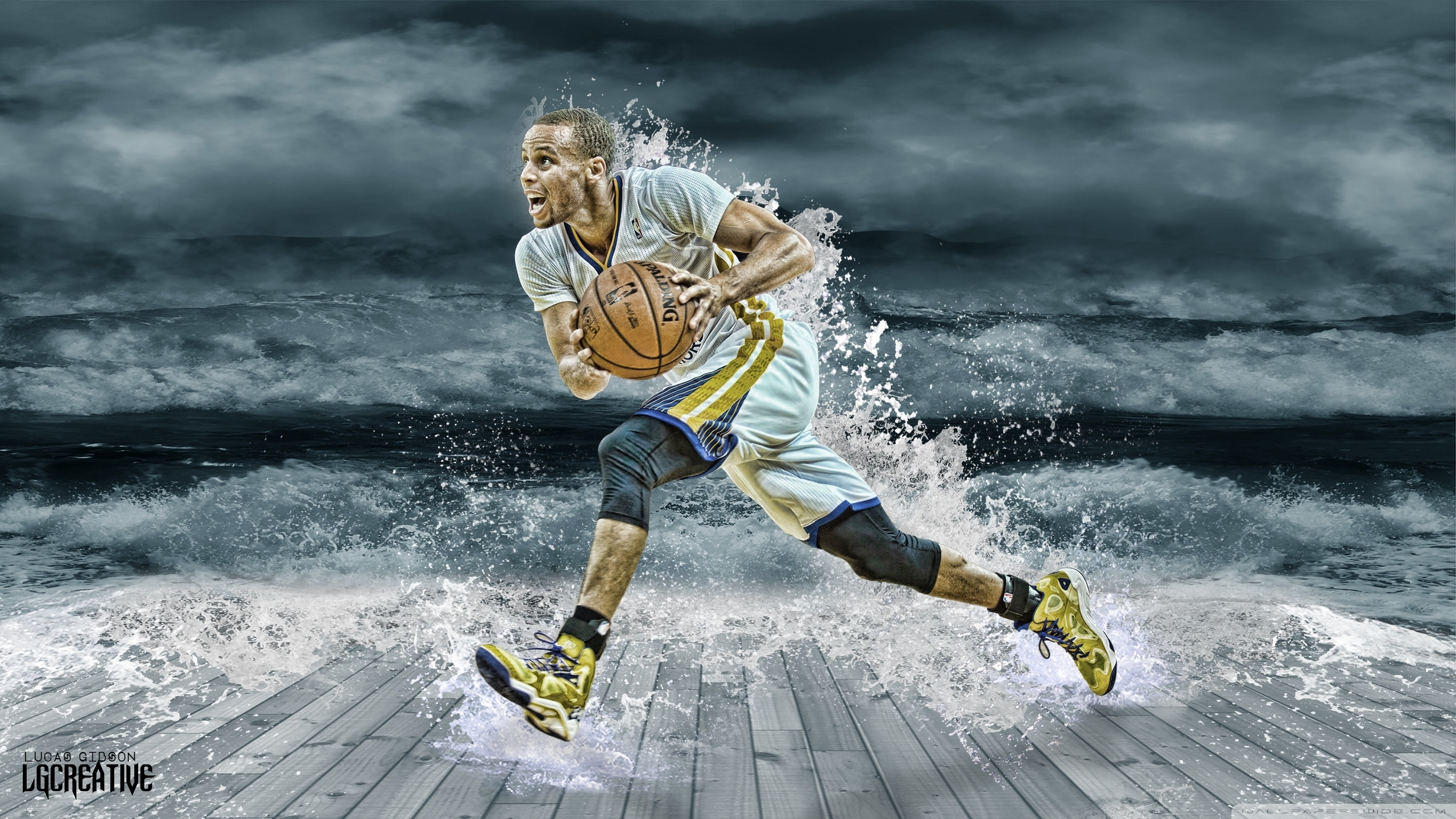 stephen curry splash ❤ 4k hd desktop wallpaper for 4k ultra hd tv
