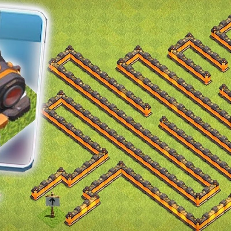 10 Top Clash Of Clans Pic FULL HD 1080p For PC Background 2020 free download still undefeated clash of clans lvl 15 cannon maze base 1 800x800