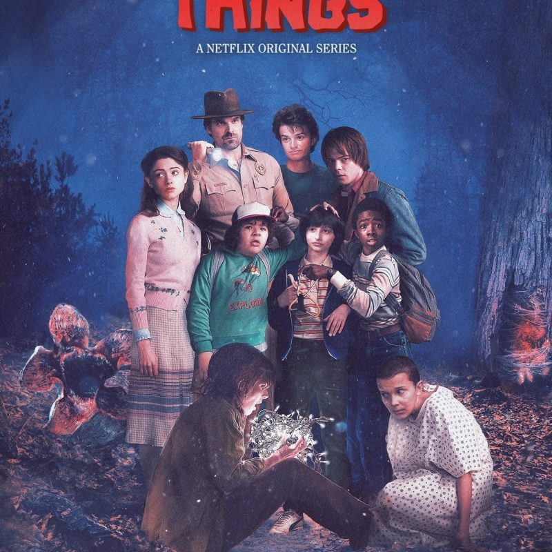 10 Latest Stranger Things Poster Hd FULL HD 1920×1080 For PC Background 2018 free download stranger things encore un hommage aux 80s 800x800