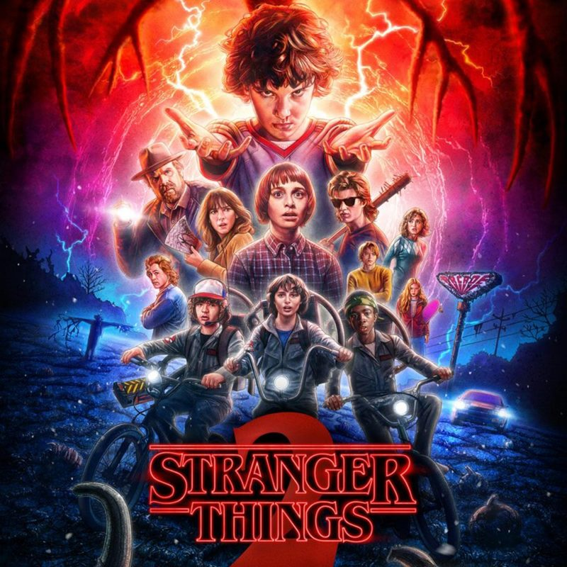10 Latest Stranger Things Poster Hd FULL HD 1920×1080 For PC Background 2018 free download stranger things season 2 gets halloween themed poster ew 800x800