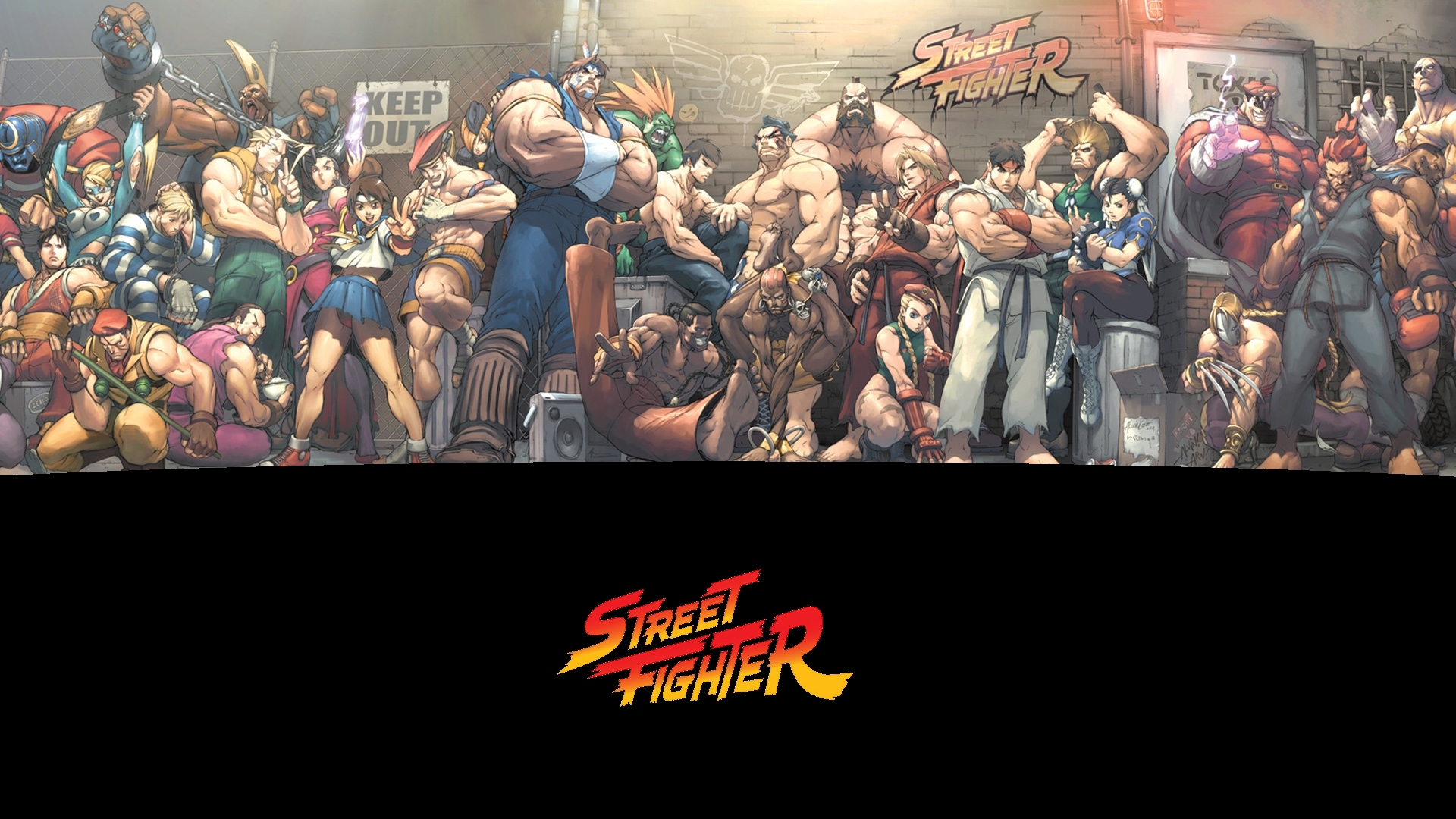 10 Latest Street Fighter Wallpaper 1920X1080 FULL HD 1920×1080 For PC Background