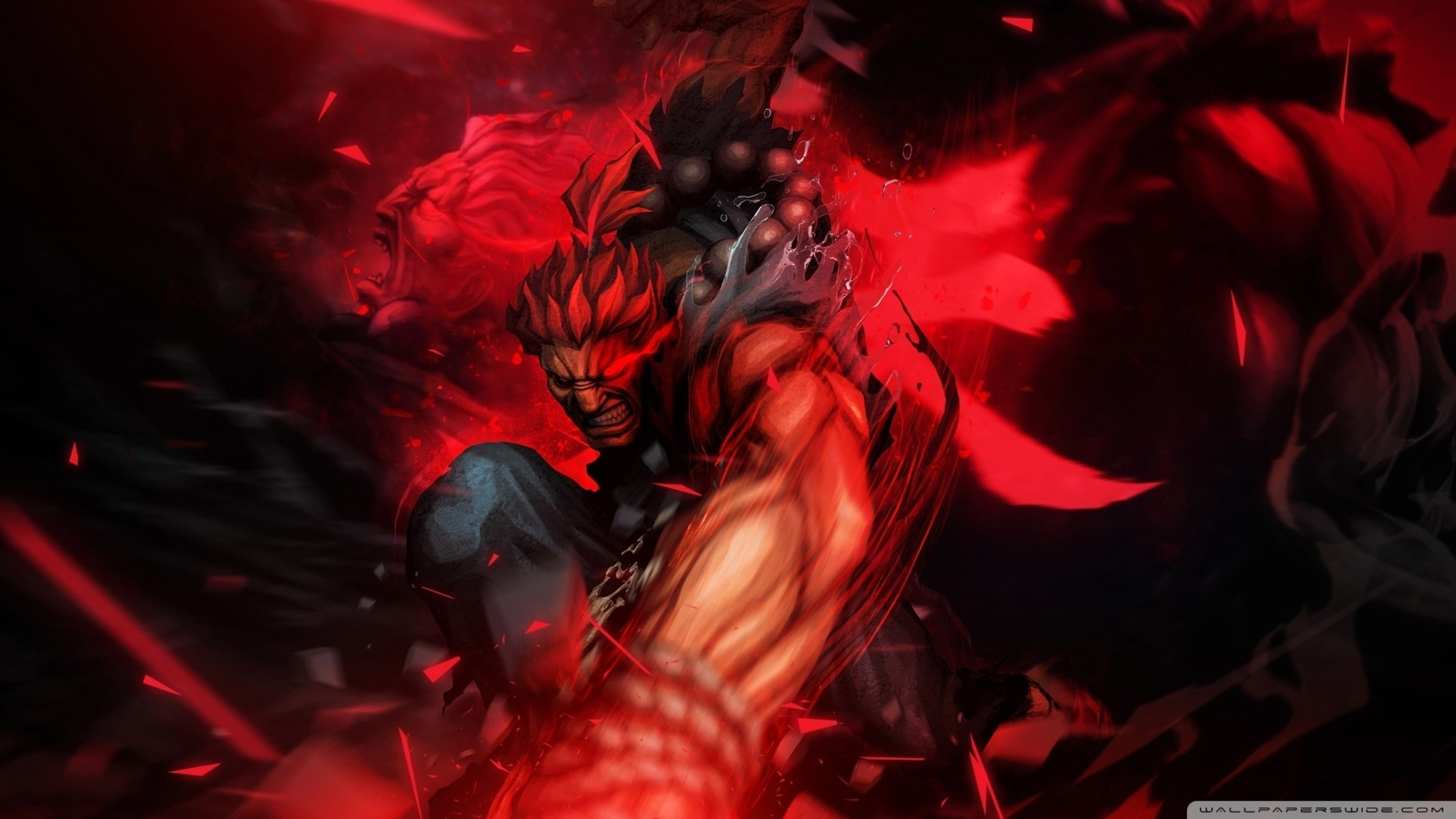 street fighter x tekken - akuma ❤ 4k hd desktop wallpaper for 4k