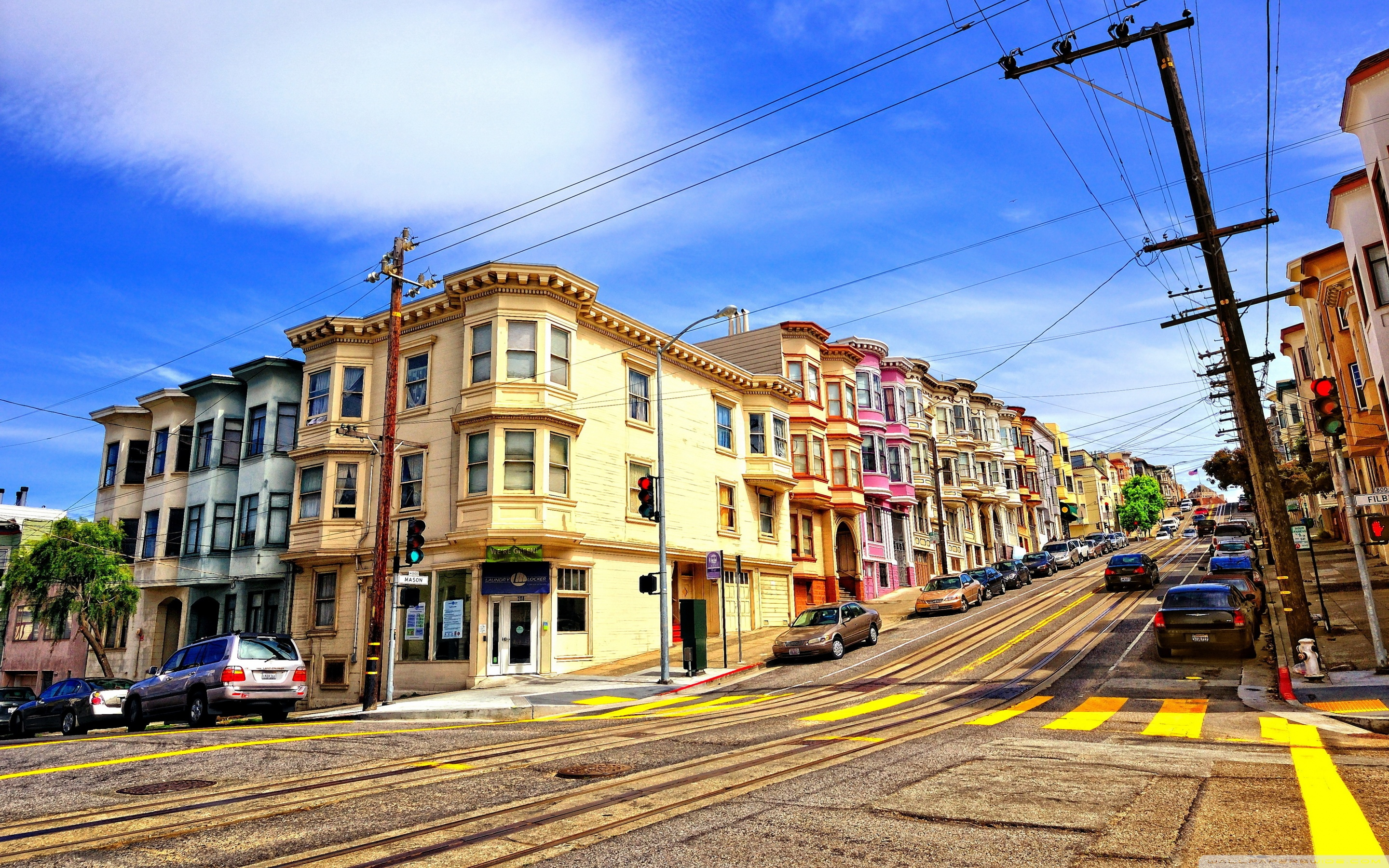 street in san francisco ❤ 4k hd desktop wallpaper for 4k ultra hd