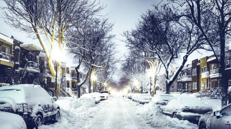 10 Most Popular Winter City Night Wallpaper FULL HD 1080p For PC Desktop 2018 free download street night road cars houses lights snow winter city wallpaper 800x448