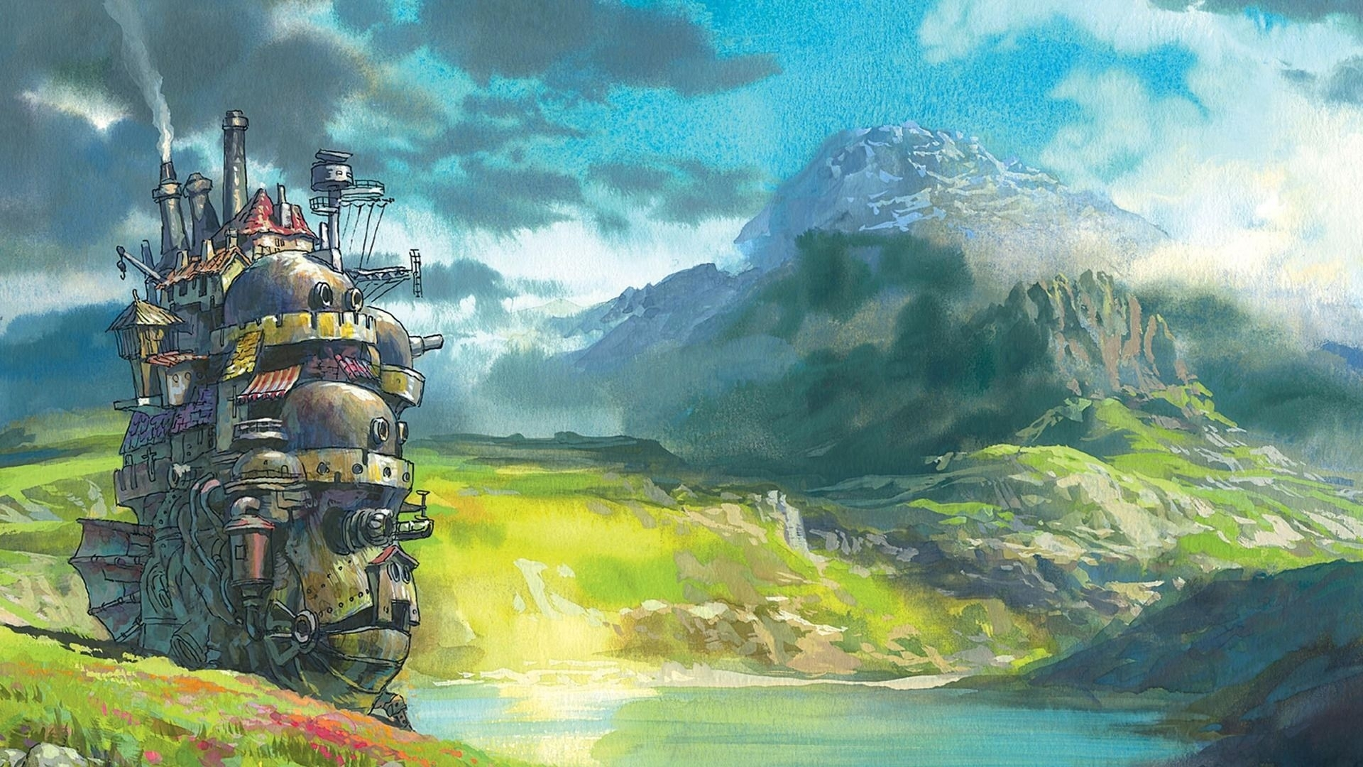 studio ghibli hd wallpaper | 1920x1080 | id:46392 | disney | pinterest