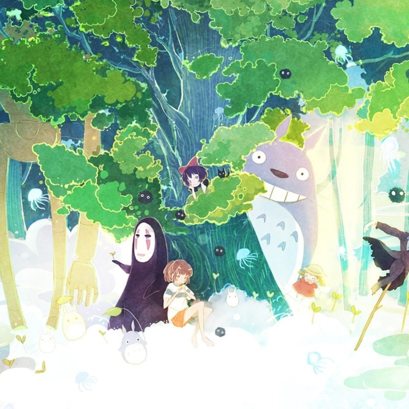 10 New Studio Ghibli Computer Backgrounds FULL HD 1920×1080 For PC Desktop 2018 free download studio ghibli wallpapers 800x800
