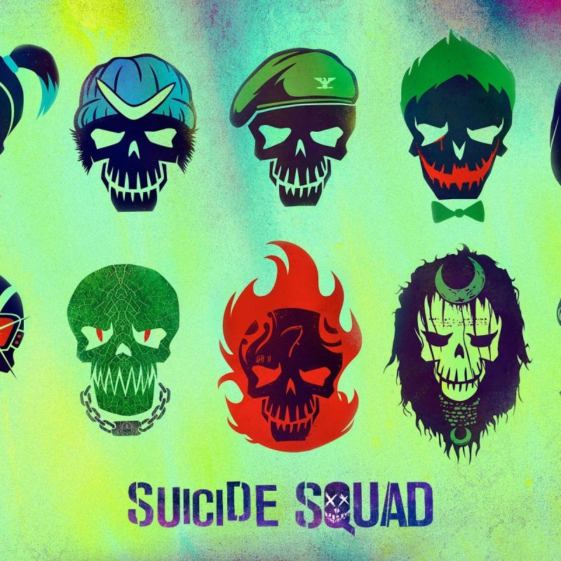 10 Best Suicide Squad Logo Wallpaper FULL HD 1080p For PC Background 2020 free download suicide squad characters full hd fond decran and arriere plan 800x800