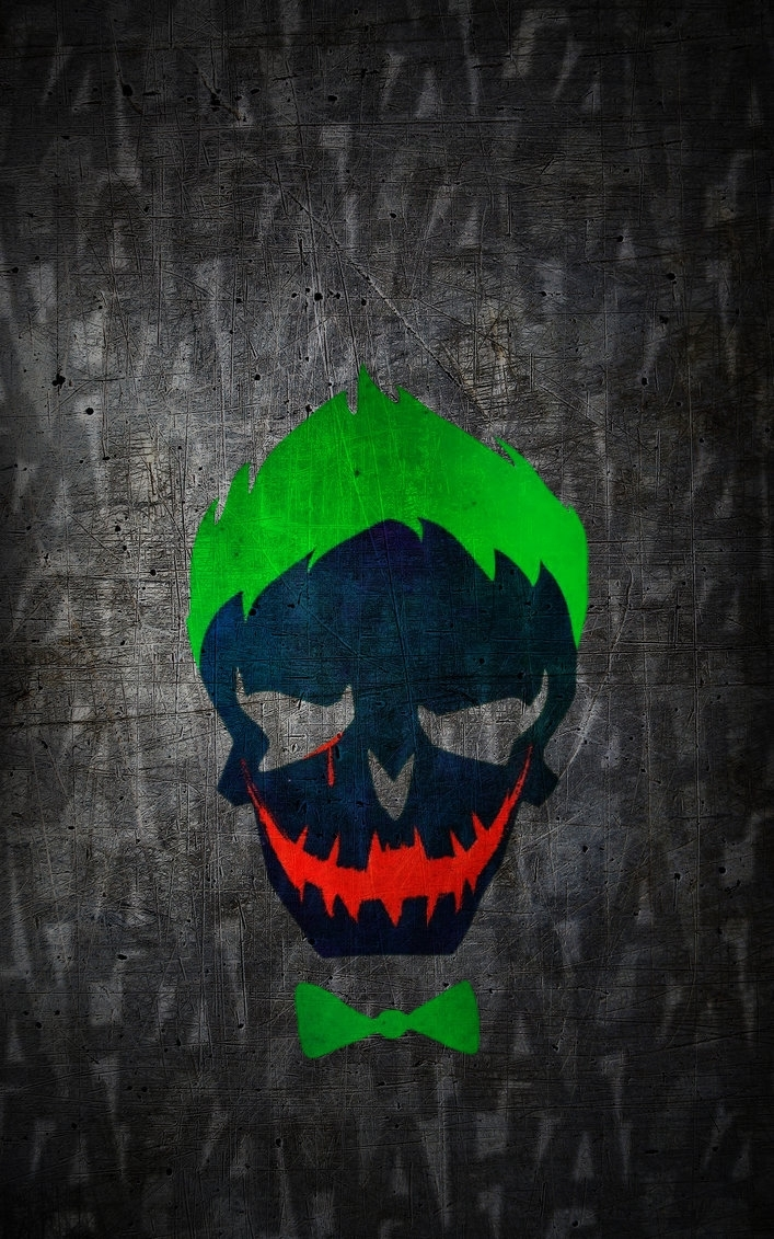 suicide-squad joker hd wallpaper (iphone/android)jaackeden on