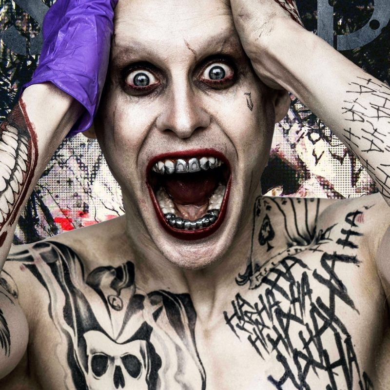 10 Top Suicide Squad Joker Wallpaper FULL HD 1080p For PC Background 2018 free download suicide squad joker tattooks android wallpaper free download 1 800x800