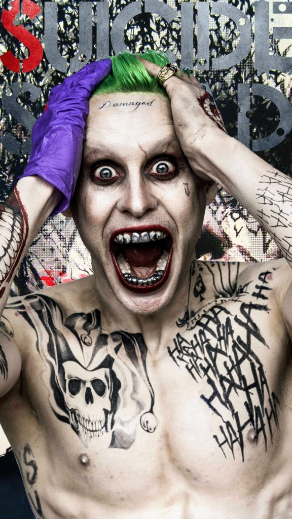10 Most Popular Joker Suicidé Squad Wallpaper FULL HD 1920×1080 For PC Background 2021 free download suicide squad joker tattooks android wallpaper free download 576x1024
