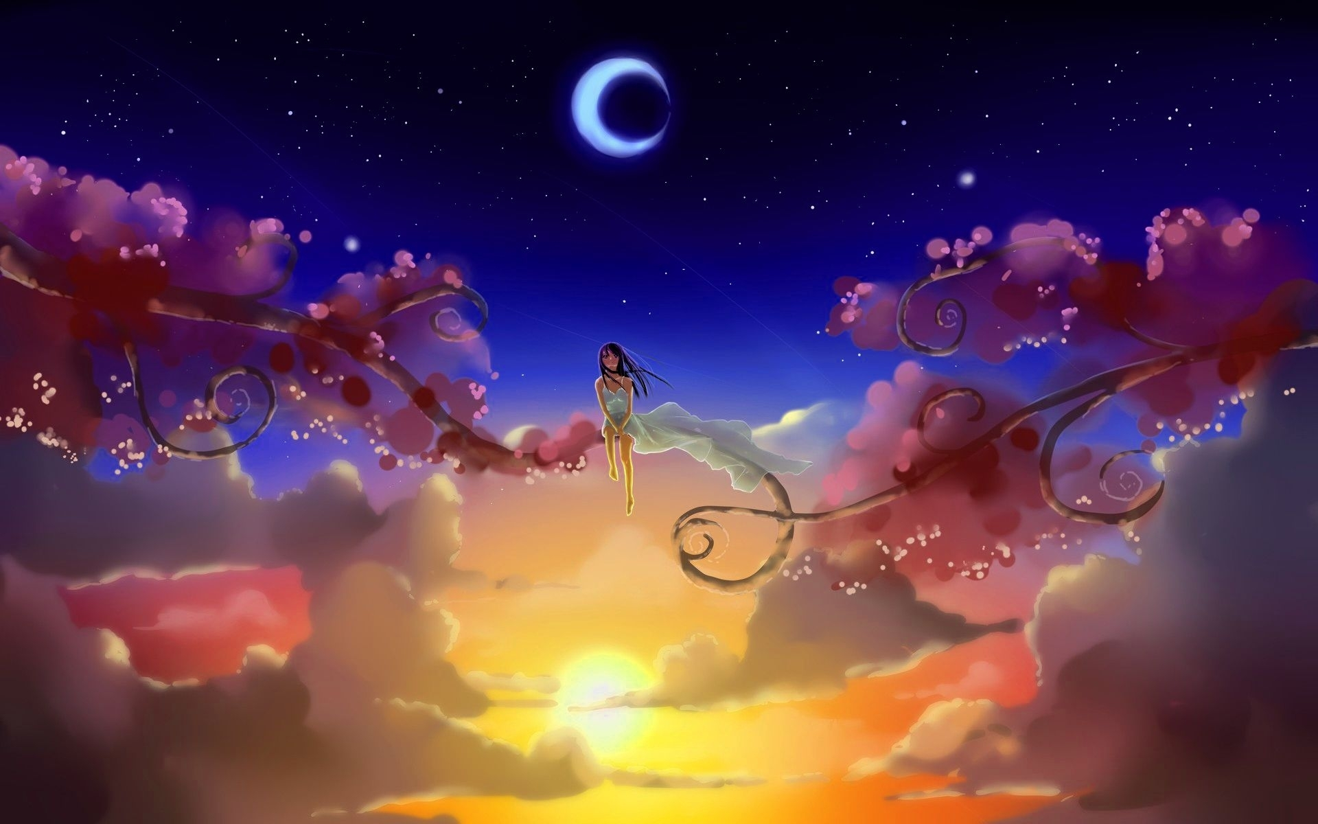 sun moon wallpapers, gallery of 44 sun moon backgrounds, wallpapers