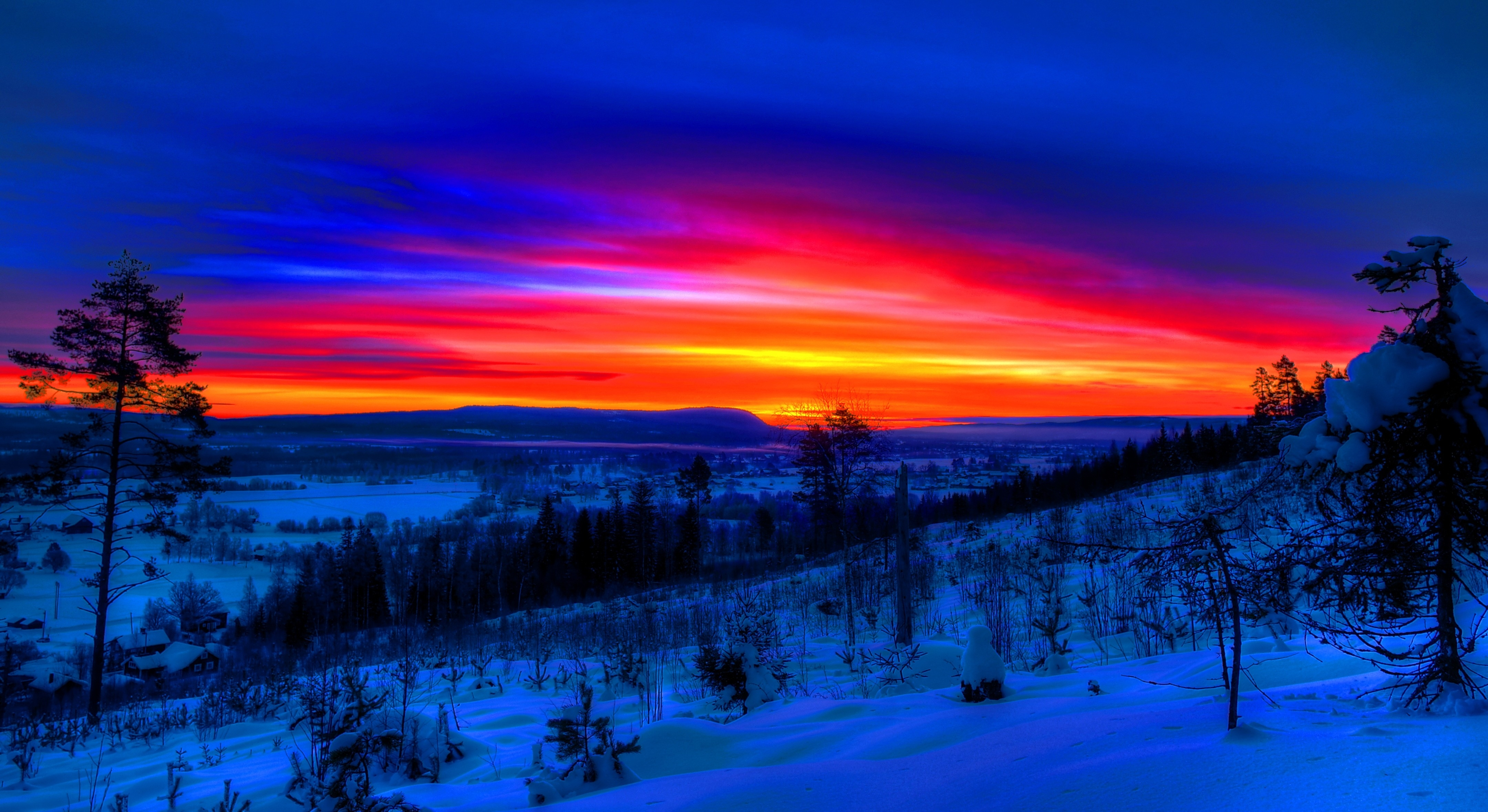 10 Top Winter Sunset Desktop Backgrounds Full Hd 1080p For Pc Background