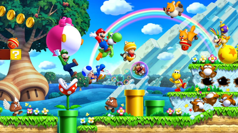 10 Most Popular Super Mario World Wallpaper Hd FULL HD 1080p For PC Background 2018 free download super mario bros hd wallpapers and background images stmed 800x450