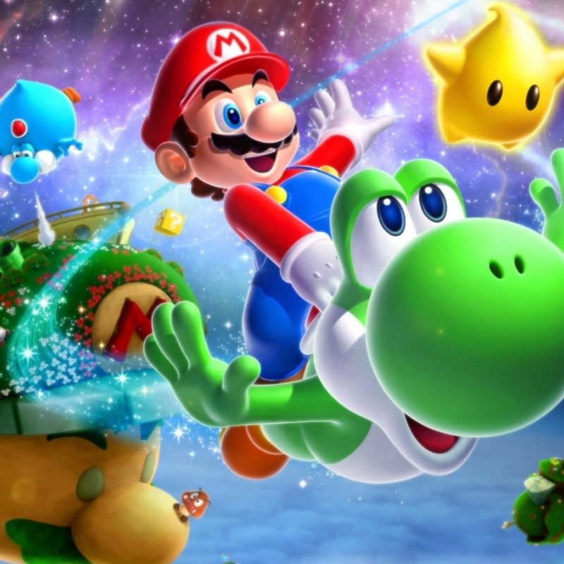 10 Best Super Mario Galaxy 2 Wallpaper FULL HD 1920×1080 For PC Background 2018 free download super mario galaxy 2 full hd fond decran and arriere plan 800x800