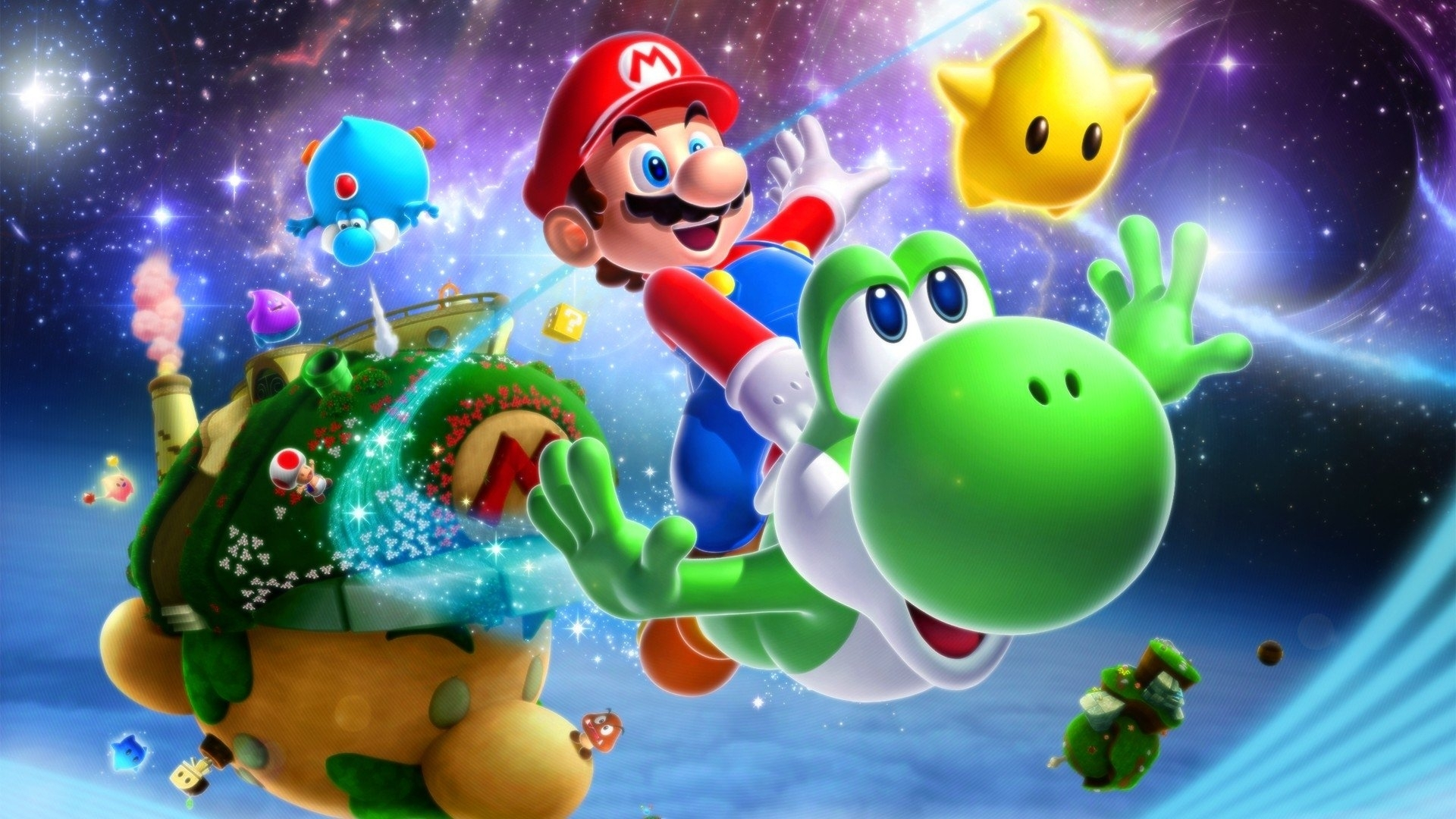 10 Best Super Mario Galaxy 2 Wallpaper FULL HD 1920×1080 For PC Background