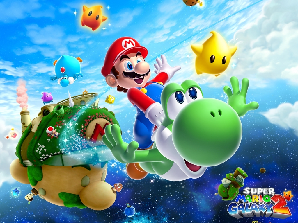 super mario galaxy 2 images super mario galaxy 2 hd wallpaper and