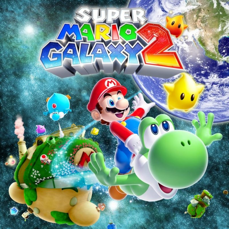 10 Best Super Mario Galaxy 2 Wallpaper FULL HD 1920×1080 For PC Background 2018 free download super mario galaxy 2 wallpapercandido1225 on deviantart 800x800