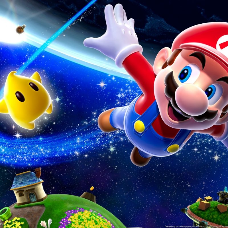 10 Best Super Mario Wall Paper FULL HD 1080p For PC Background 2018 free download super mario galaxy wallpapers hd wallpapers id 1638 1 800x800