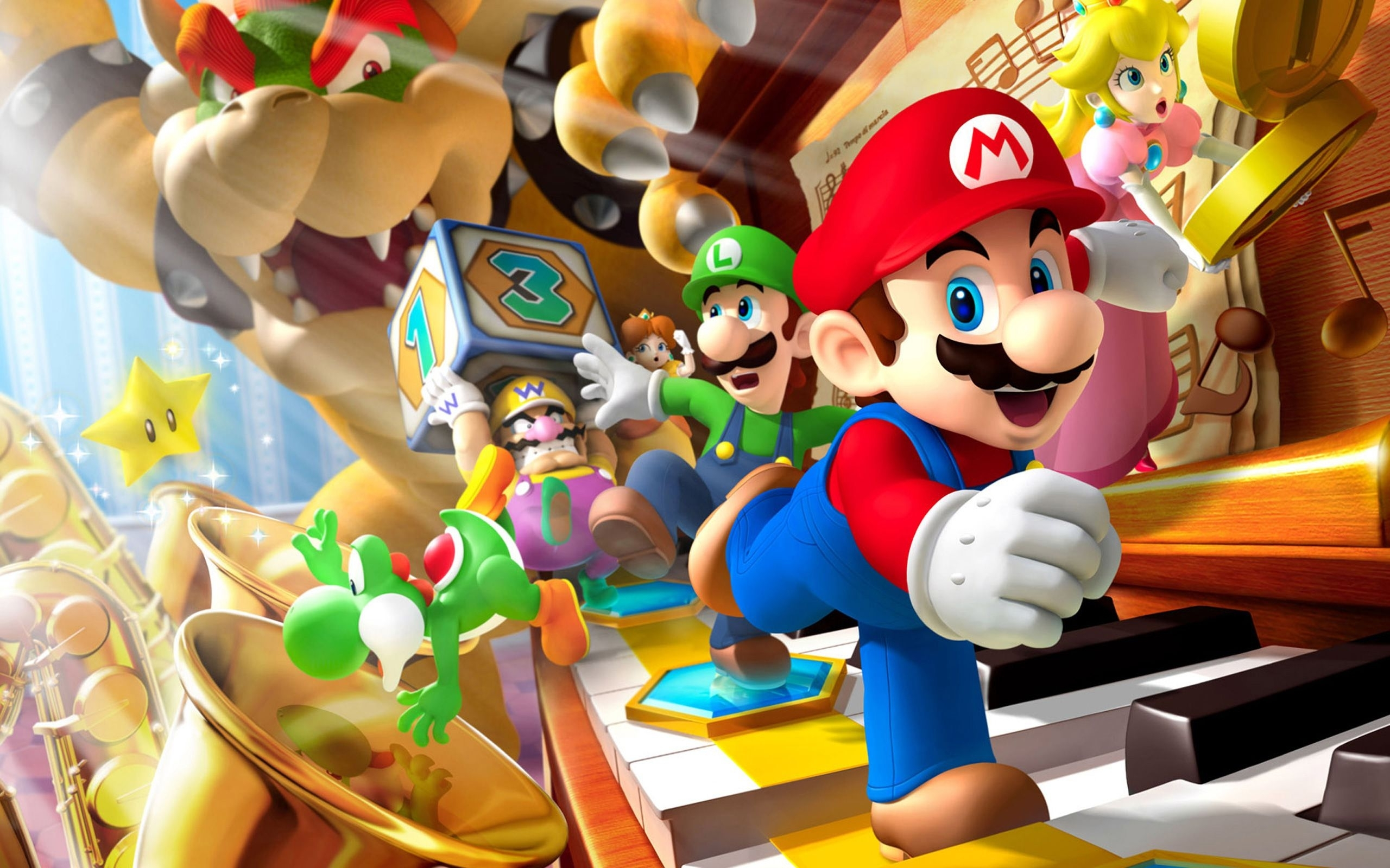 super mario luigi - wallpaper. | all wallpapers | pinterest