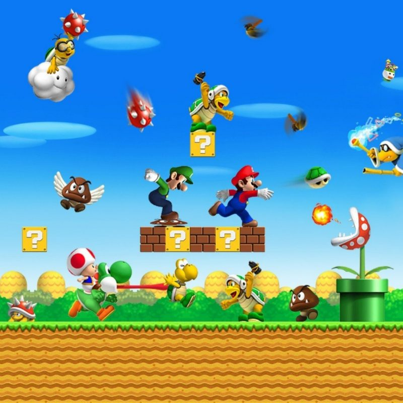 10 Best Super Mario Desktop Backgrounds FULL HD 1080p For PC Desktop 2018 free download super mario wallpaper 5091 1920x1080 px hdwallsource 800x800
