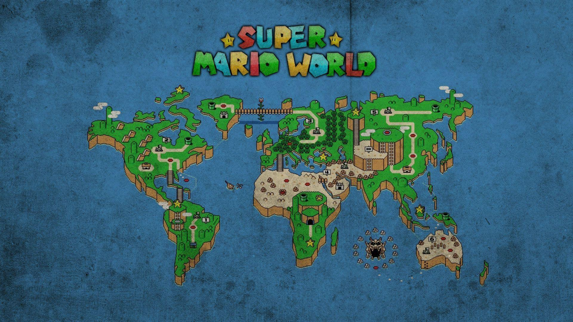 super mario world hd wallpapers and background images - stmed