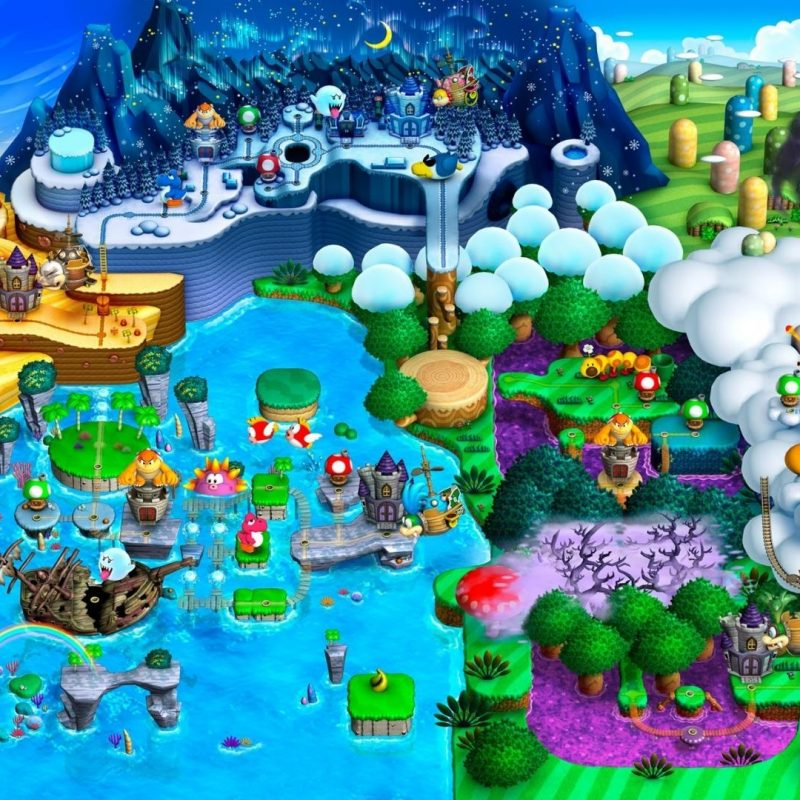 10 Top Super Mario World Map Wallpaper FULL HD 1920×1080 For PC Desktop 2018 free download super mario world map wallpaper 73806 800x800