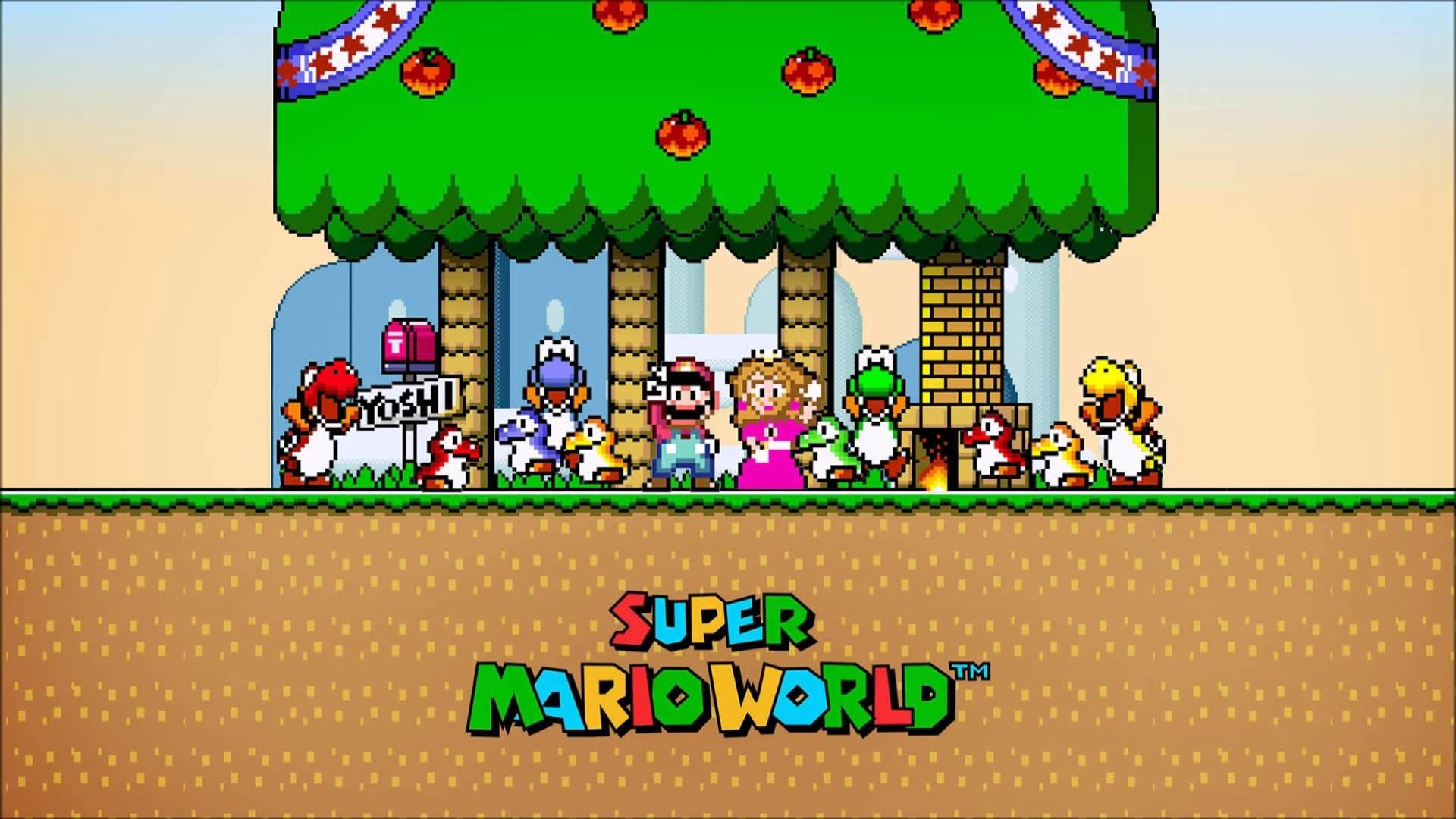 super mario world: return to dinosaur land hd wallpaper