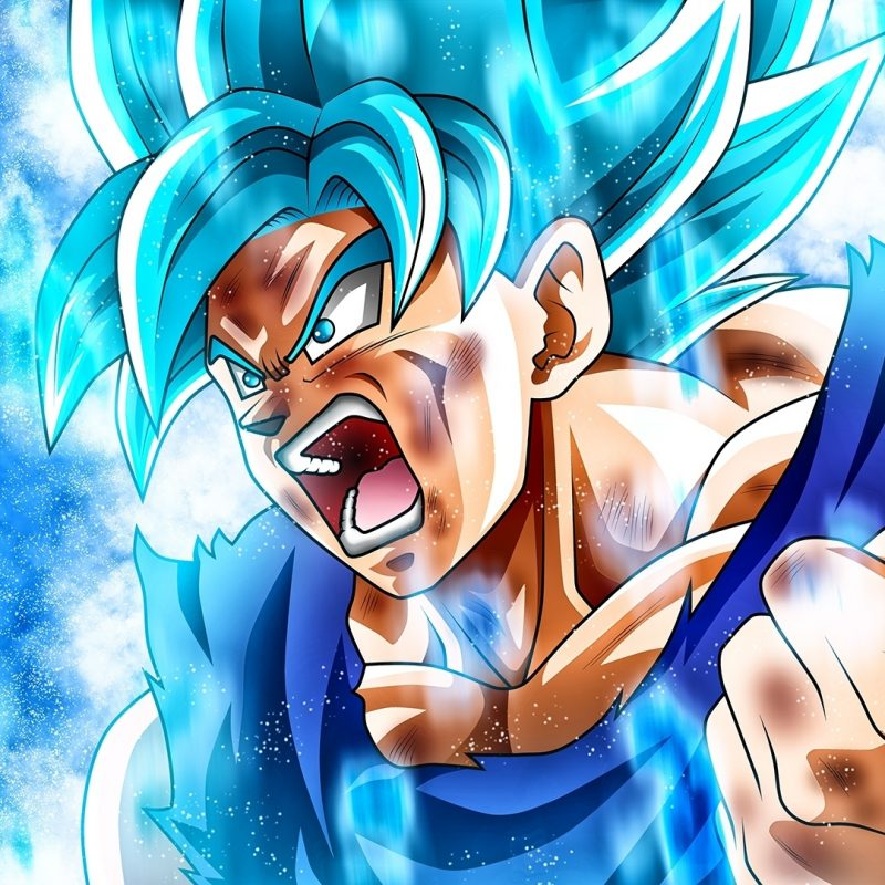 10 New Super Saiyan Blue Goku Wallpaper FULL HD 1080p For PC Desktop 2018 Free Download