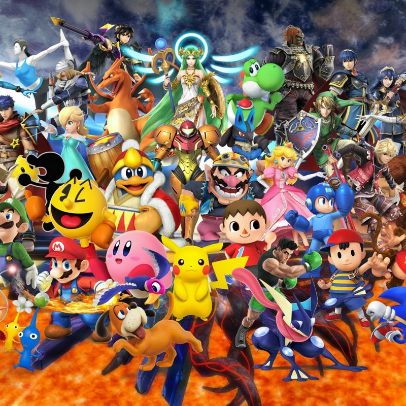 10 Most Popular Super Smash Bros Background FULL HD 1080p For PC Background 2021 free download super smash bros for nintendo 3ds and wii u all characters 800x800