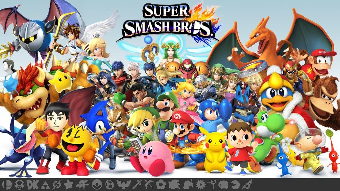 10 Most Popular Super Smash Bros Wallpaper FULL HD 1080p ...
