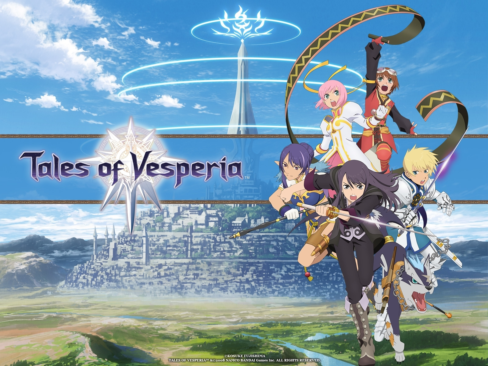 tales of vesperia wallpaper #1502534 - zerochan anime image board