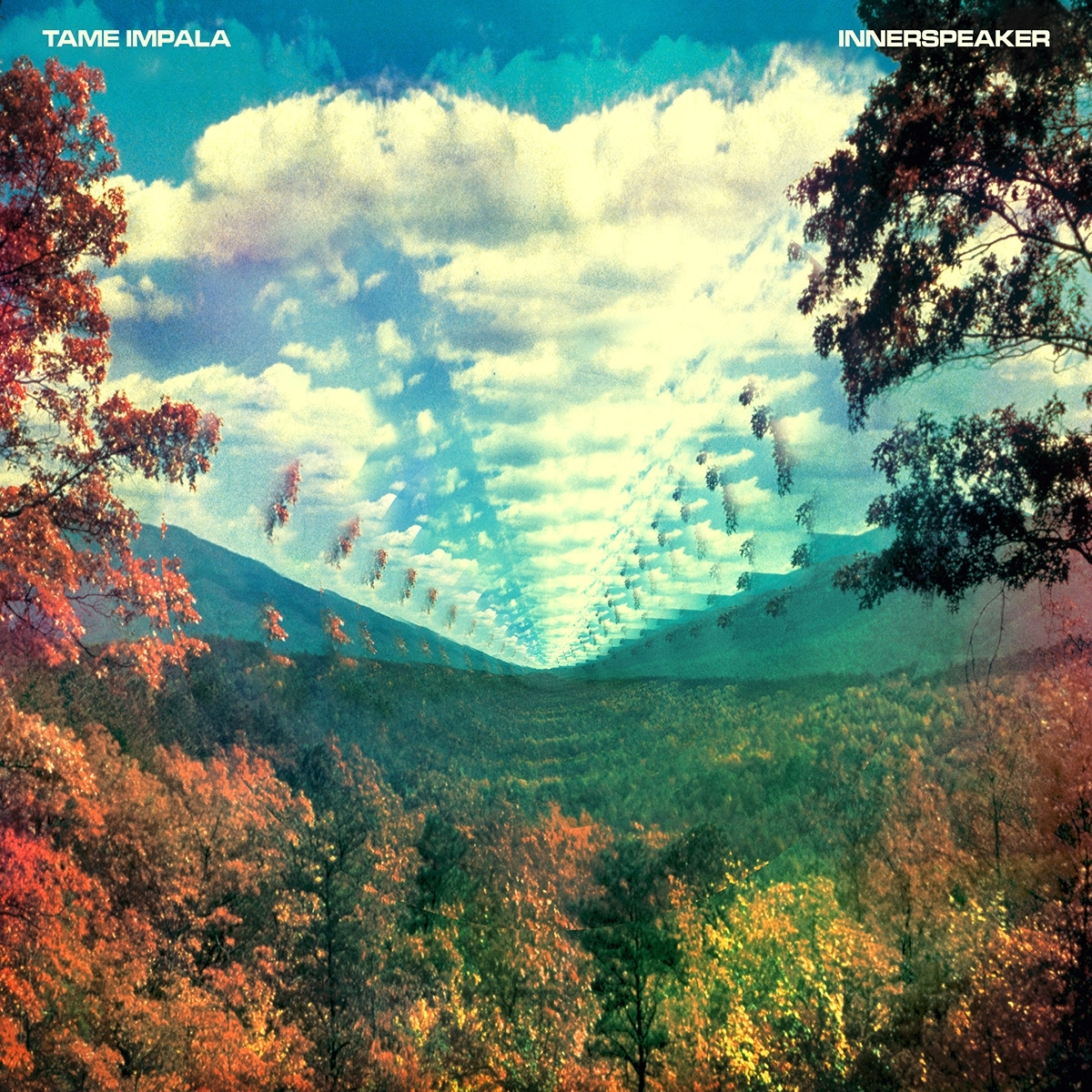tame impala – innerspeaker on behance