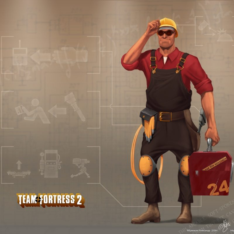 10 New Team Fortress 2 Engineer Wallpaper FULL HD 1080p For PC Desktop 2018 free download team fortress 2 engineer wallpapers group 72 800x800