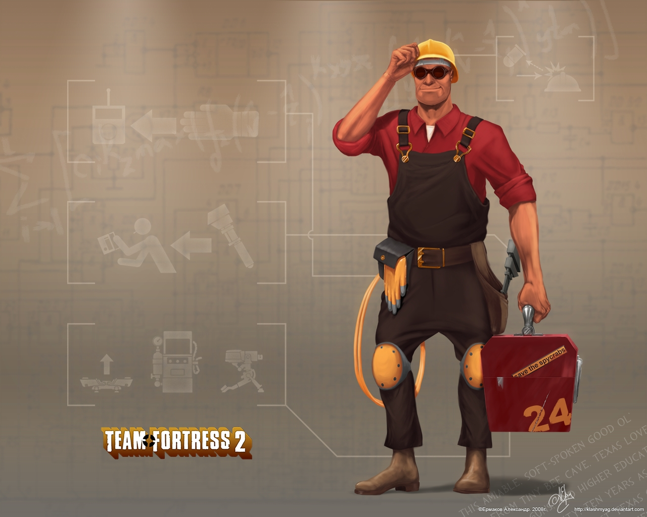 team fortress 2 engineer wallpapers group (72)