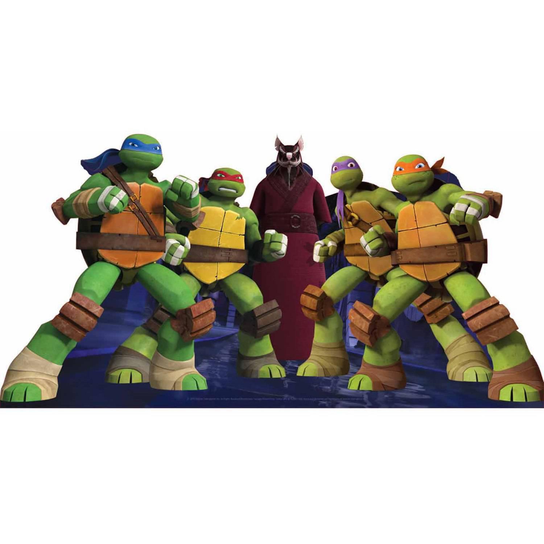 teenage mutant ninja turtle group standee - walmart