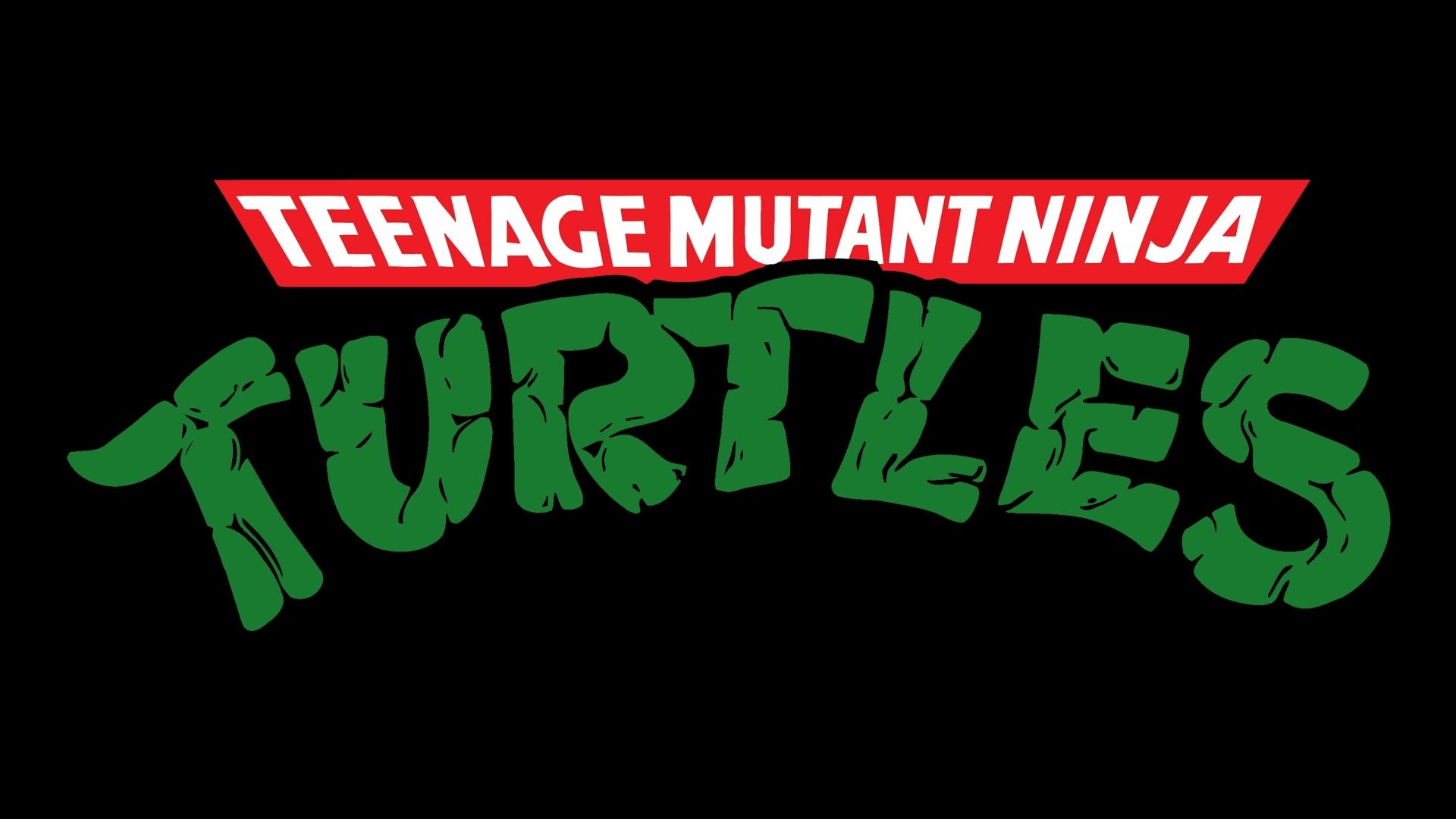 teenage mutant ninja turtles logo wallpaper 40699 1920x1080 px