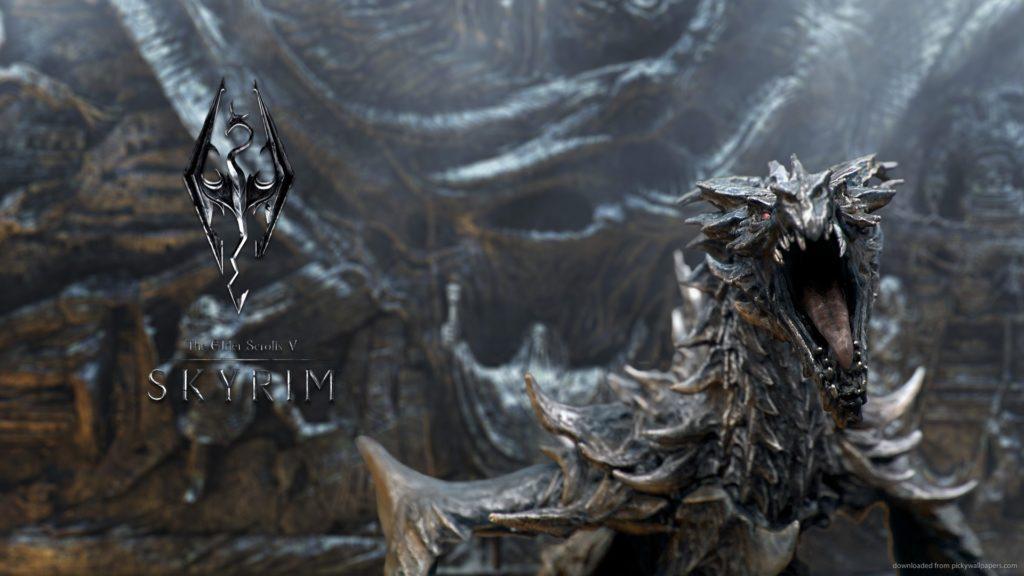 10 New Skyrim Dragon Wallpaper 1920X1080 FULL HD 1920×1080 For PC Background 2018 free download tes5 skyrim dragon for 1920x1080 durgons pinterest skyrim 1024x576