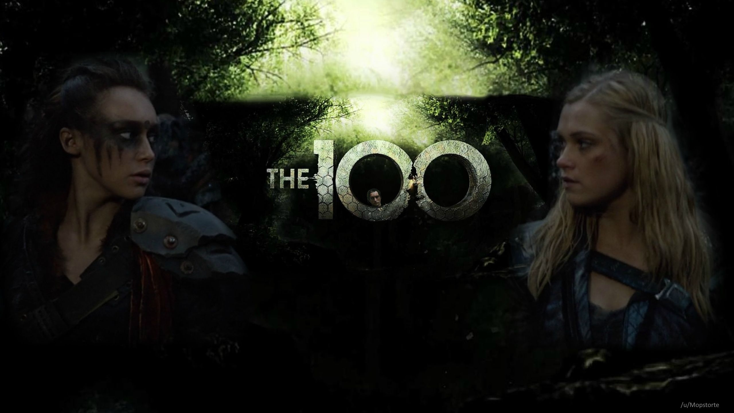 the 100 lexa and clarke - desktop background - imgur