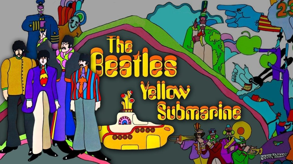10 New The Beatles Yellow Submarine Wallpaper FULL HD 1080p For PC Desktop 2018 free download the beatles border yellow submarine wallpaper by felipemuve 1024x576