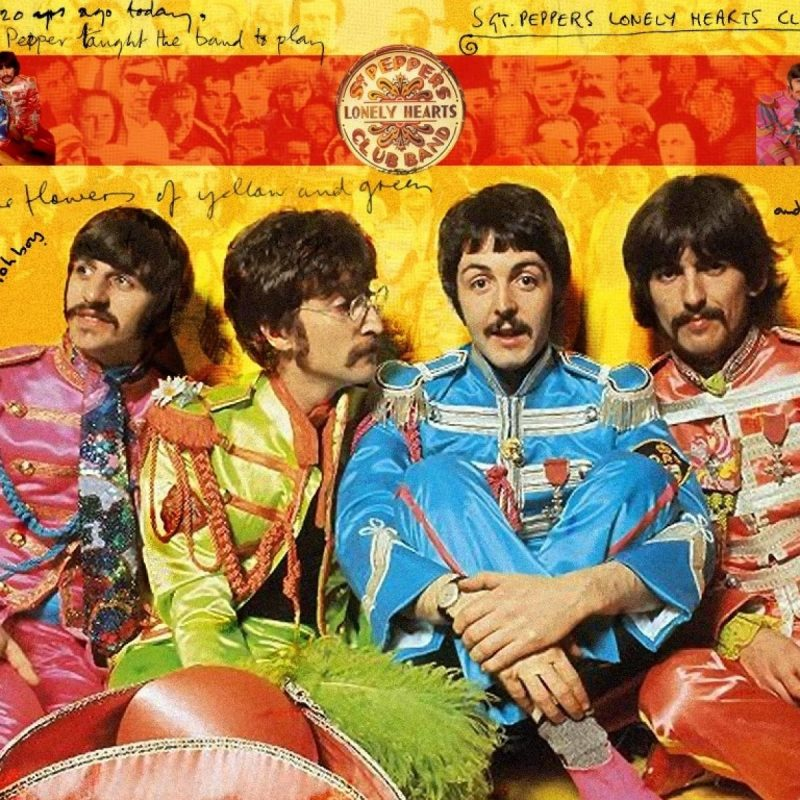 10 Best Sgt Pepper's Lonely Hearts Club Band Wallpaper FULL HD 1920×1080 For PC Background 2018 free download the beatles wallpaper sgt pepper free download the beatles 800x800