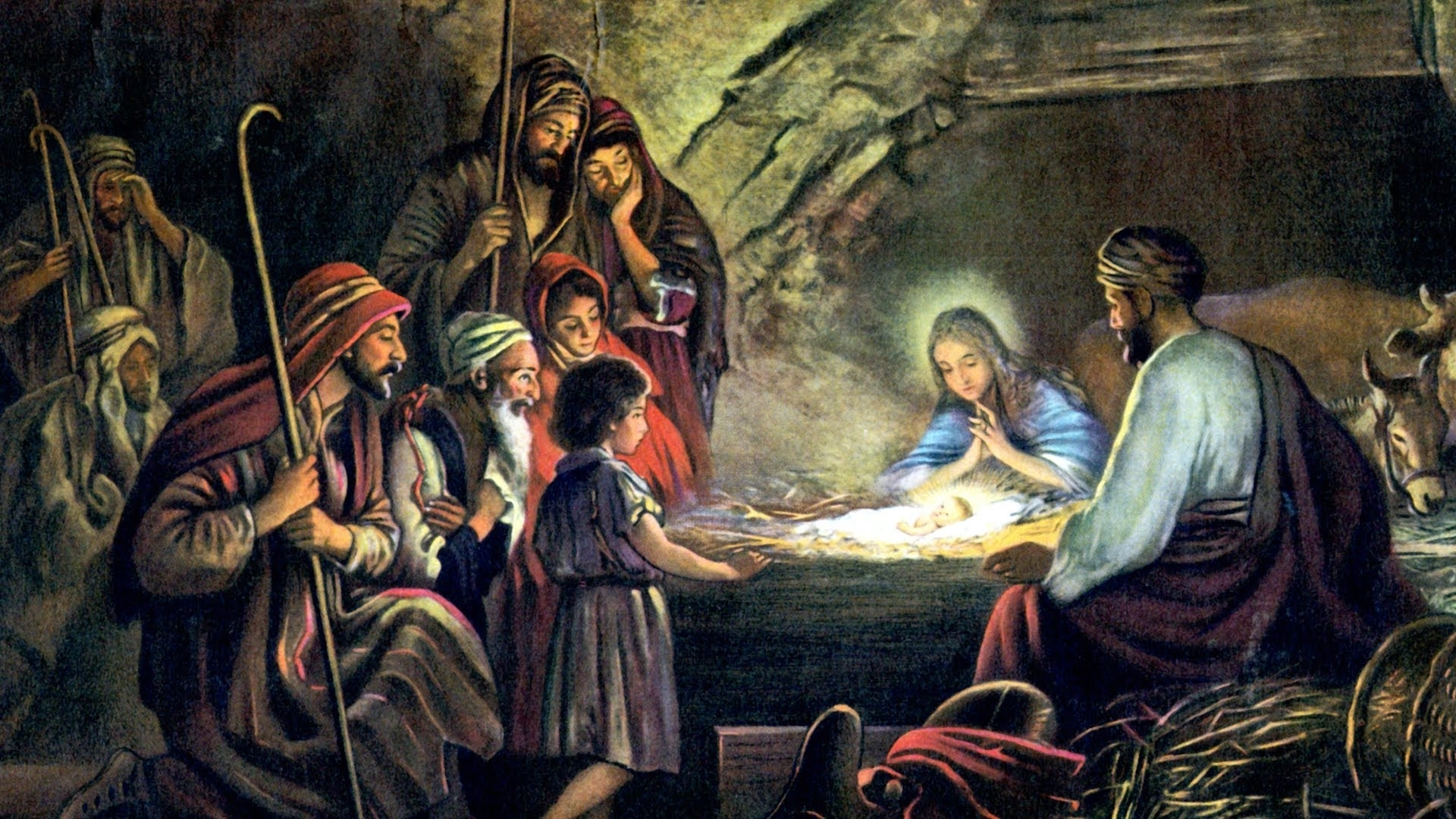 the birth of jesus christ - youtube