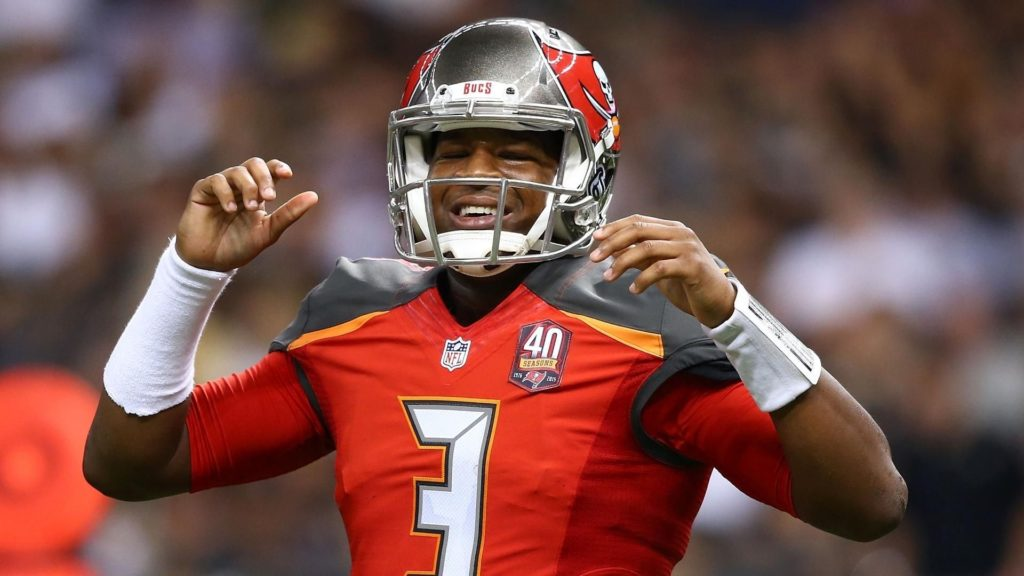 10 Best Jameis Winston Bucs Wallpaper FULL HD 1920×1080 For PC Background 2018 free download the buccaneers rolling on offense bucs report 1024x576