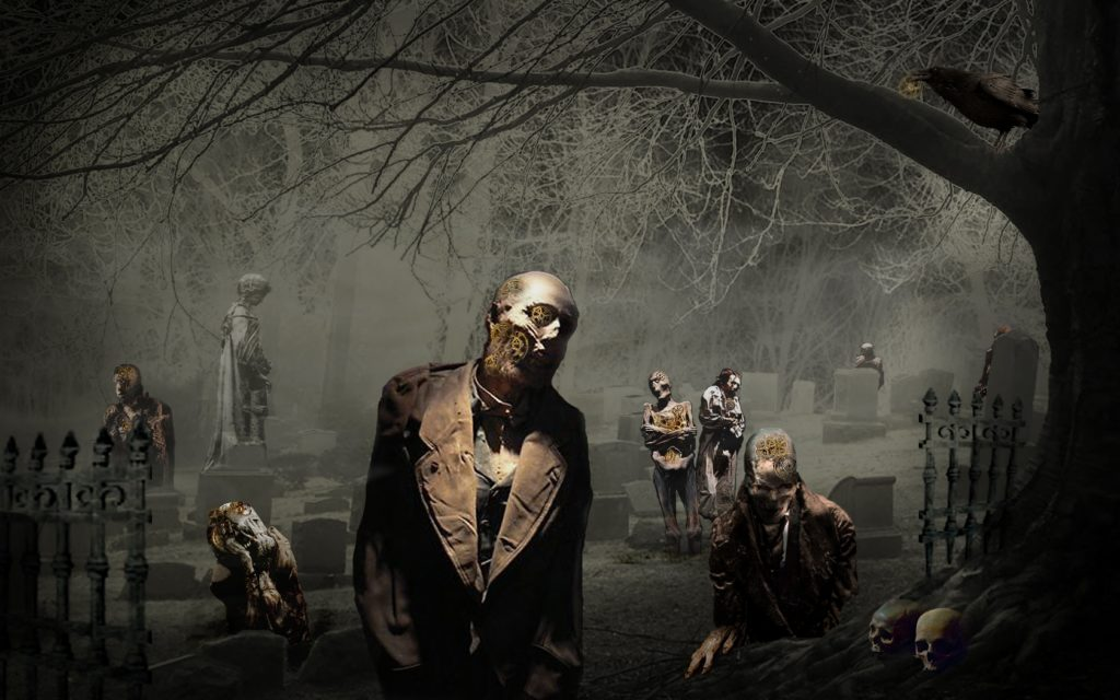 10 New Scary Halloween Wallpapers Hd FULL HD 1080p For PC Desktop 2018 free download the dead are coming back zombies pinterest halloween horror 1024x640
