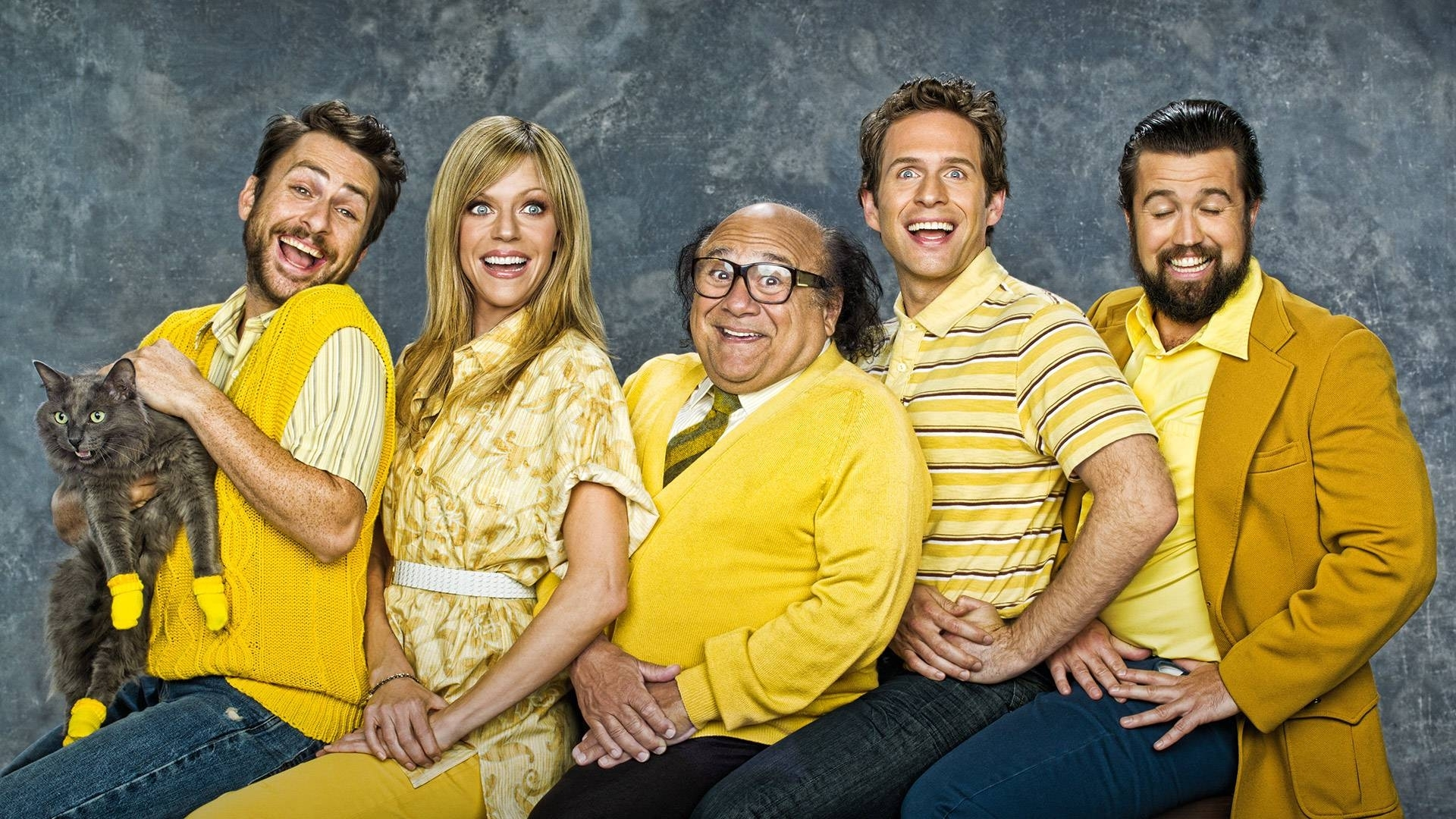 the gang does wallpapers (it's always sunny in philadelphia) - album