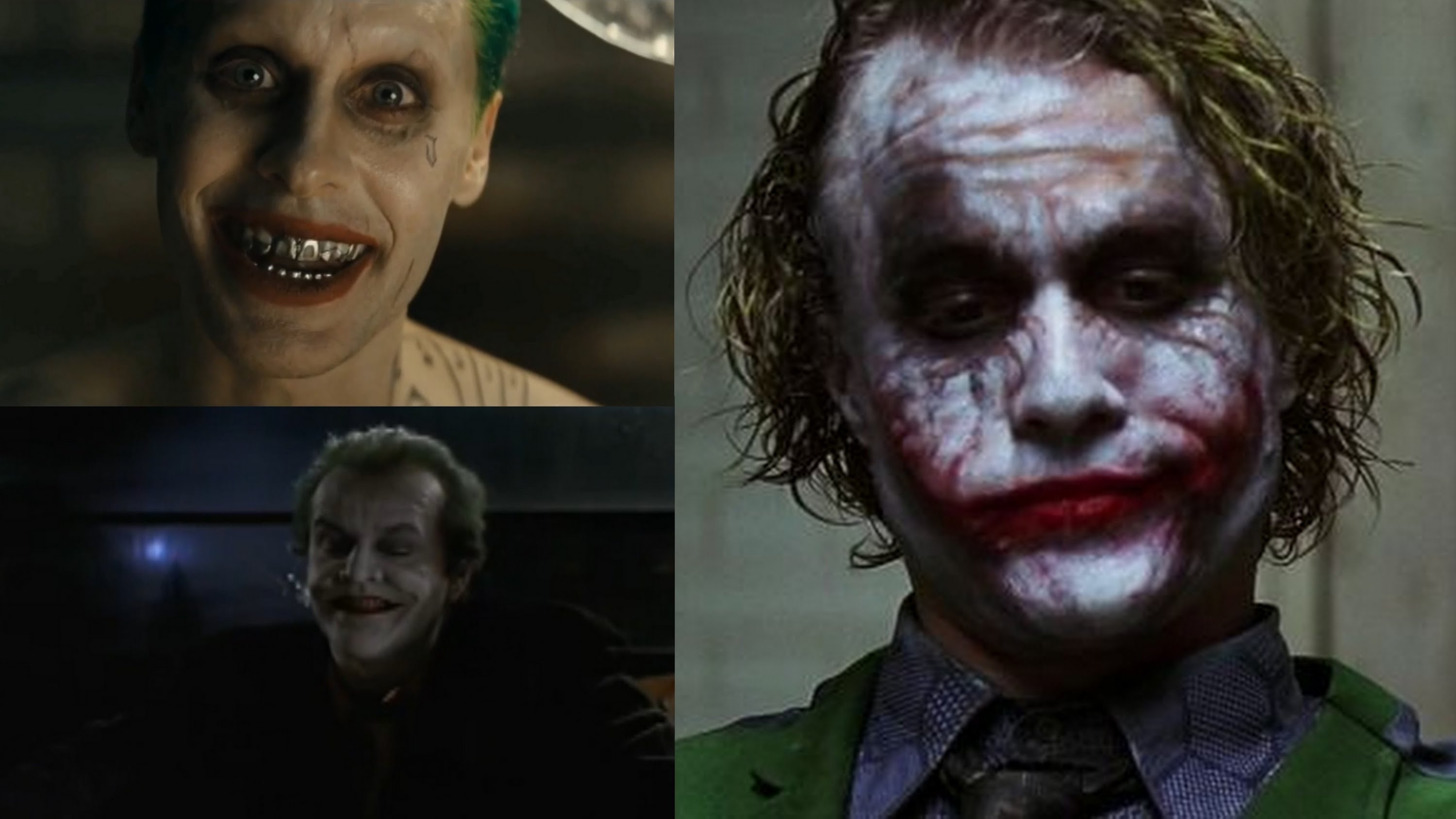 the joker voice - jared leto vs heath ledger vs jack nicholson - youtube